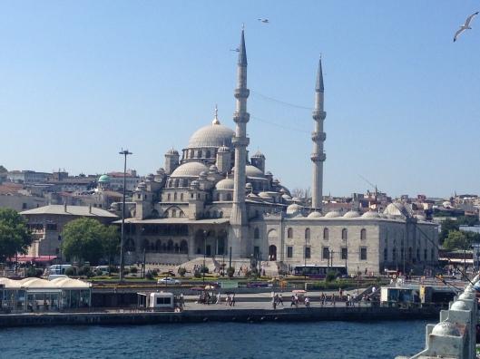 Vista de Estambul desde el Puente Gálata